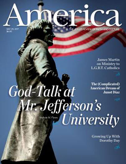 Latest issue of America Magazine