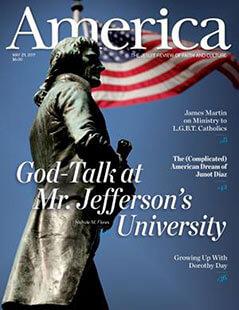 Latest issue of America Magazine