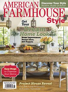 Latest issue of American Farmhouse Style
