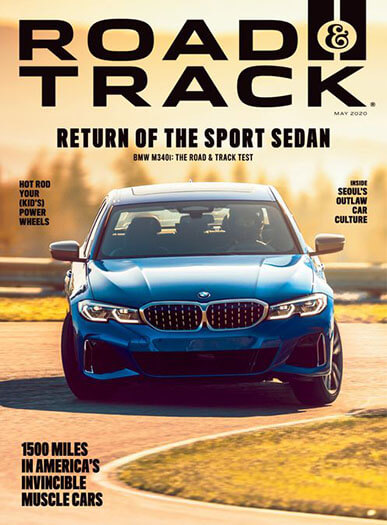 Latest issue of Road and Track