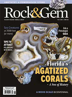 Latest issue of Rock & Gem Magazine
