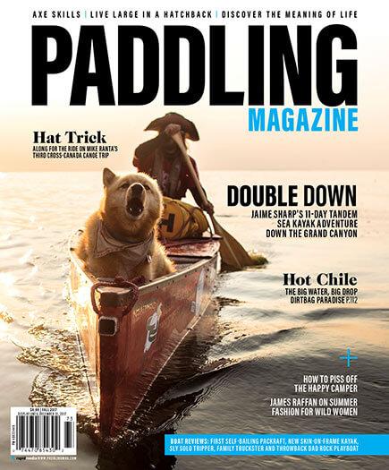 Latest issue of Paddling Magazine