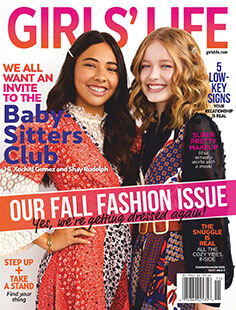 Latest issue of Girls' Life