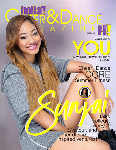 Subscribe to HOLLA'! Cheer and Dance Magazine