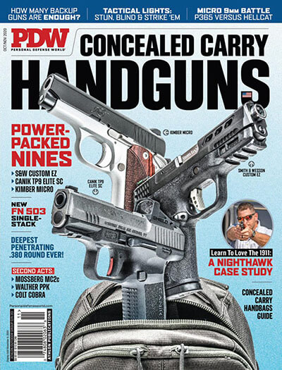 Latest issue of Personal Defense World