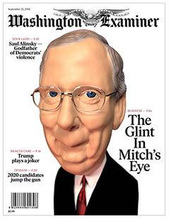 Latest issue of Washington Examiner Magazine
