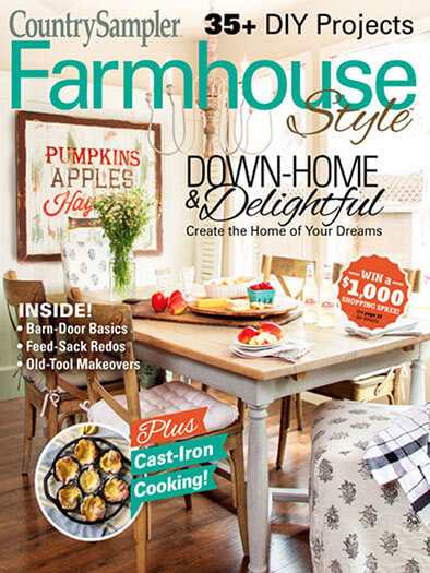 Latest issue of Farmhouse Style