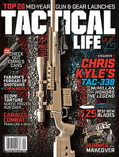 Latest issue of Tactical Life Magazine