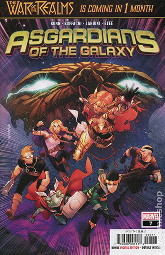 Latest issue of Asgardians of the Galaxy
