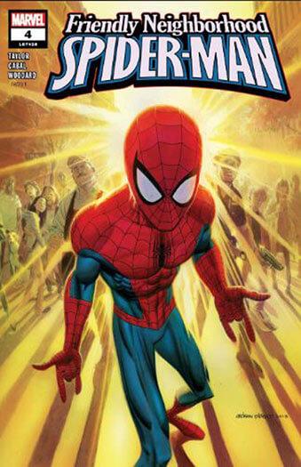 Latest issue of Friendly Neighborhood Spider-Man
