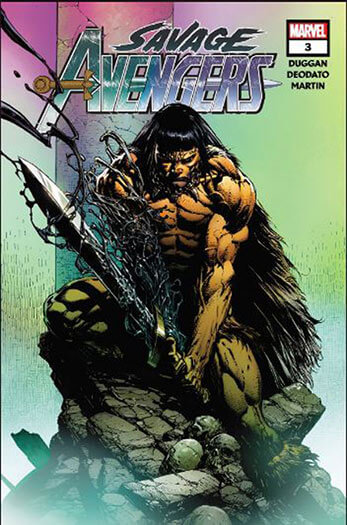 Latest issue of Savage Avengers Magazine