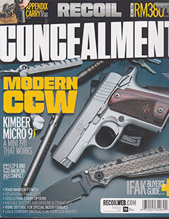 Latest issue of Concealment