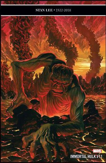Latest issue of Immortal Hulk Magazine
