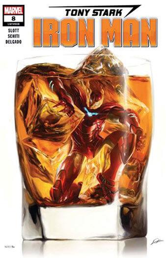 Latest issue of Tony Stark Iron Man Magazine