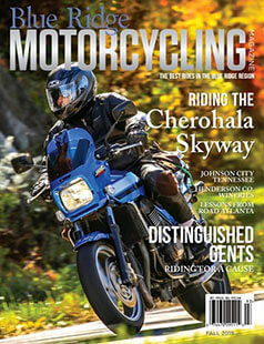Latest issue of Blue Ridge Motorcycling