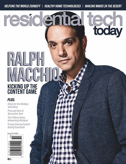 Latest issue of Residential Tech Today