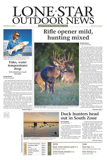 Latest issue of Lone Star Outdoor News