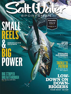 Latest issue of Salt Water Sportsman Magazine