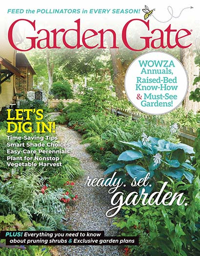 Latest issue of Garden Gate Magazine