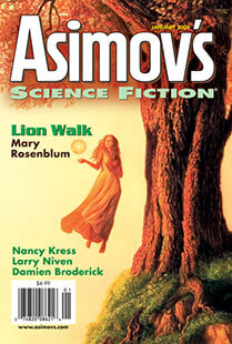 Latest issue of Asimov's Science Fiction