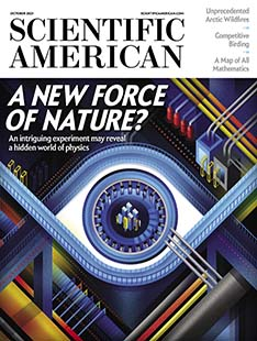 Latest issue of Scientific American Magazine