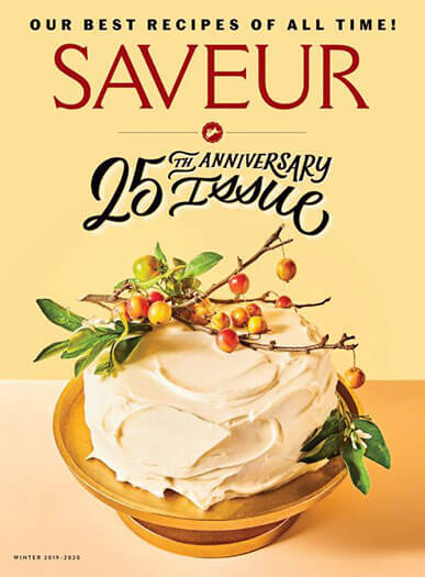 Latest issue of Saveur