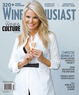 Latest issue of Wine Enthusiast Magazine