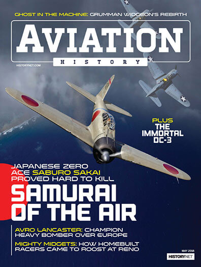 Latest issue of Aviation History