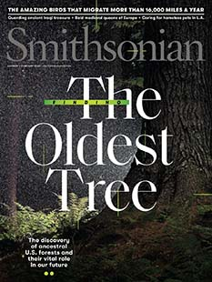 Latest issue of Smithsonian