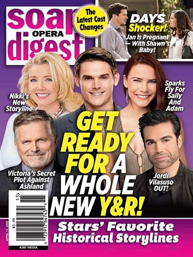 Latest issue of Soap Opera Digest Magazine