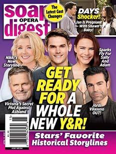 Latest issue of Soap Opera Digest Magazine