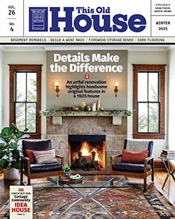 Latest issue of This Old House Magazine