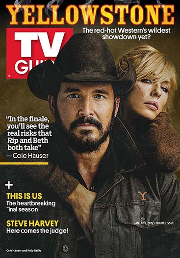 Latest issue of TV Guide Magazine