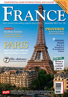Latest issue of France Magazine