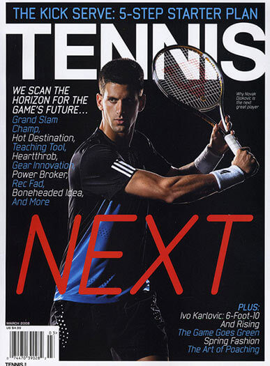 Latest issue of Tennis Magazine