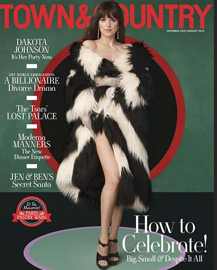 Latest issue of Town & Country