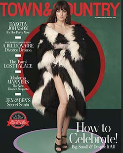 Latest issue of Town & Country Magazine