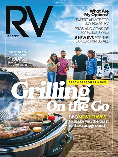 Latest issue of RV Magazine
