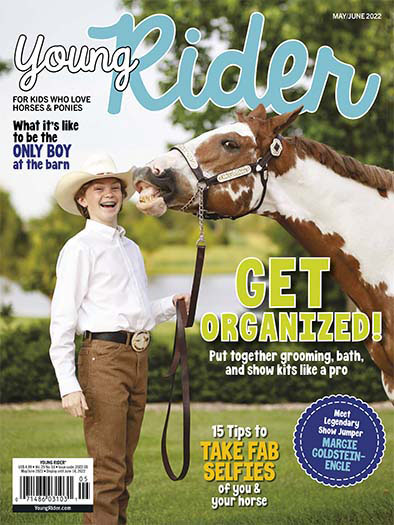 Latest issue of Young Rider