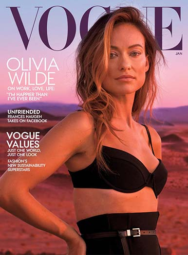 Latest issue of Vogue