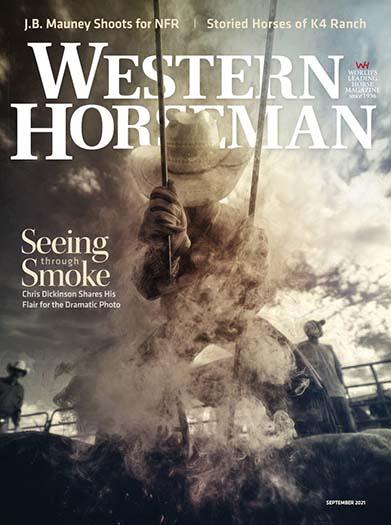 Latest issue of Western Horseman Magazine