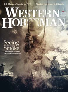 Latest issue of Western Horseman Magazine
