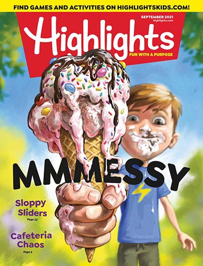 Latest issue of Highlights Magazine