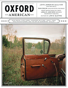 Latest issue of Oxford American Magazine