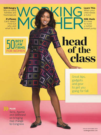 Latest issue of Working Mother