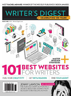 Latest issue of Writer's Digest Magazine