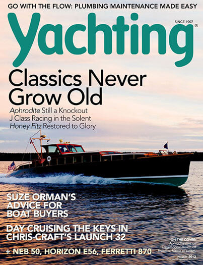 Latest issue of Yachting Magazine