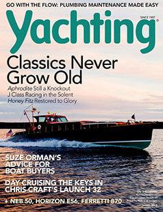 Latest issue of Yachting Magazine