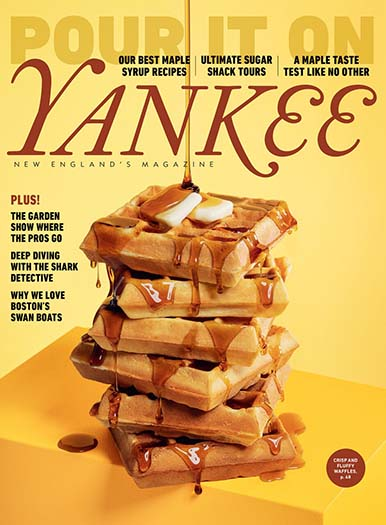 Latest issue of Yankee Magazine