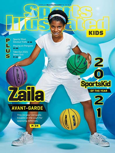 Latest issue of Sports Illustrated Kids